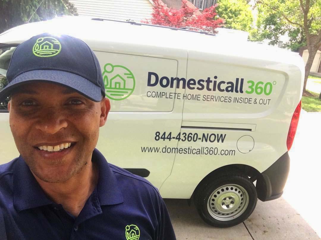 Domesticall360 van and uniform design