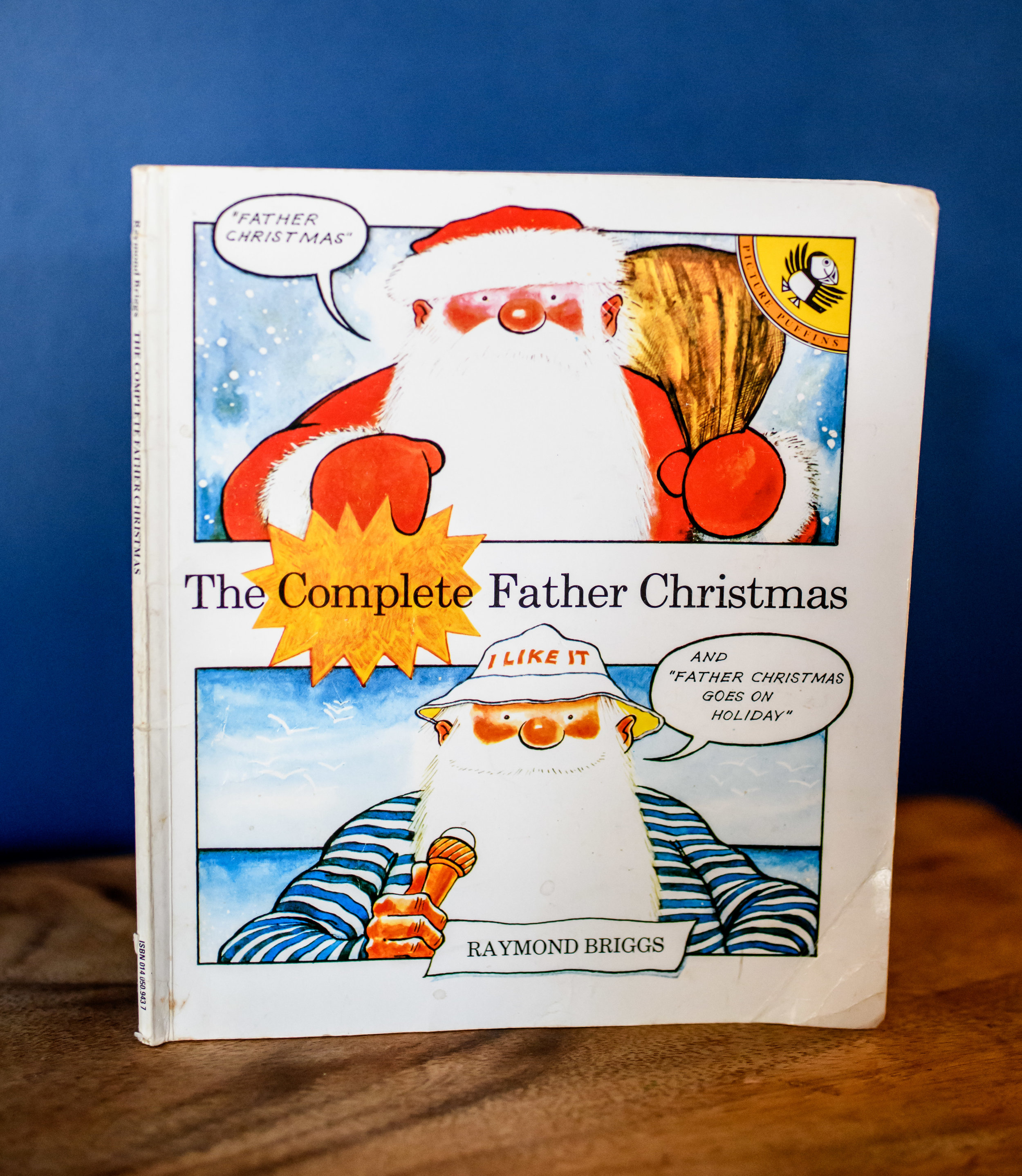 My version includes Father Christmas goes on holiday too!