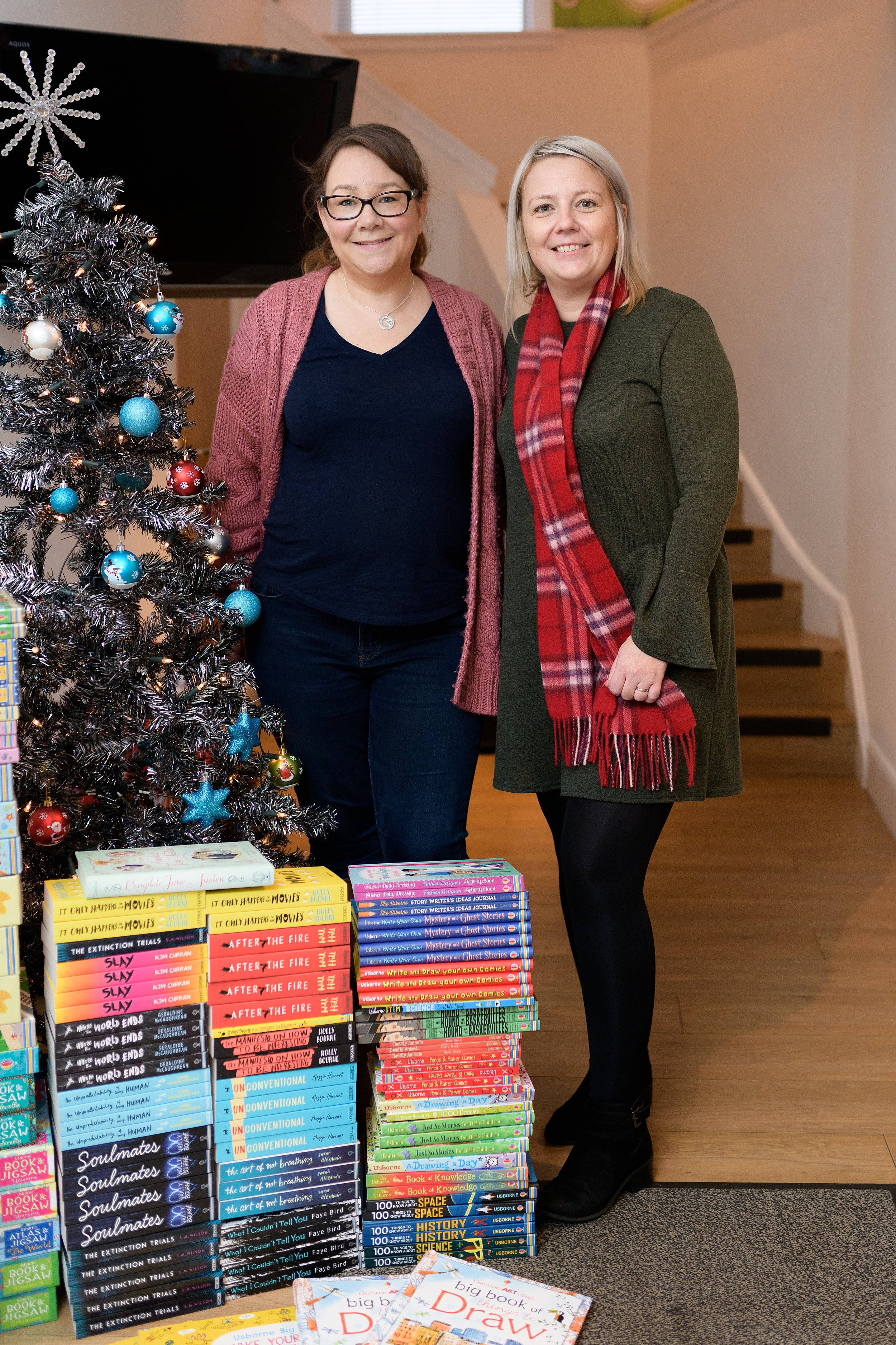 Fiona & Stacey, the Charity Manager for Help for Kids