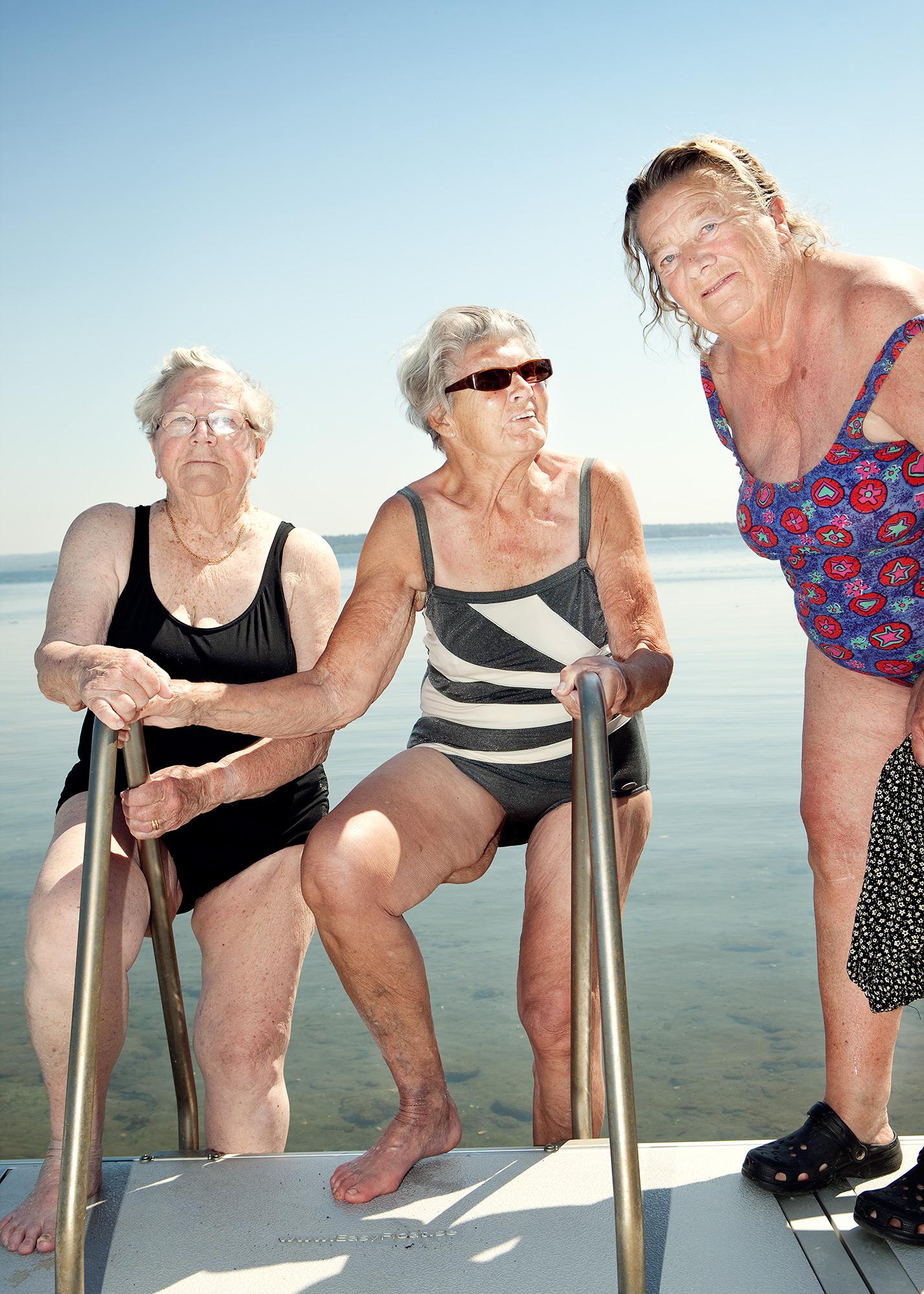 Seniorer på läger