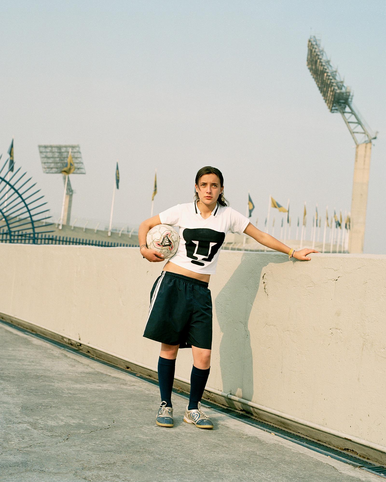 María, 15 år, Mexico City.
