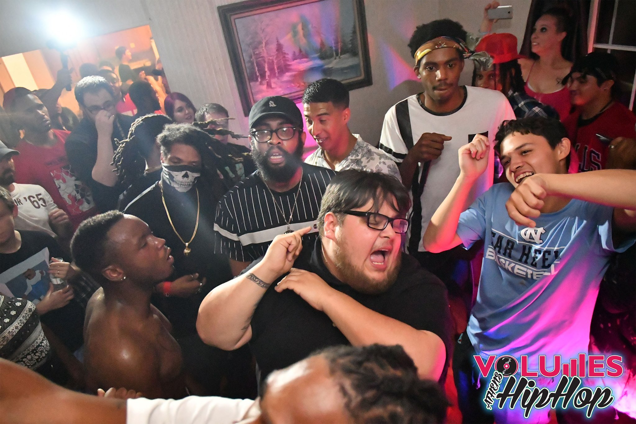 BYV/theYOD performing at Volumes House Party 8.26.17