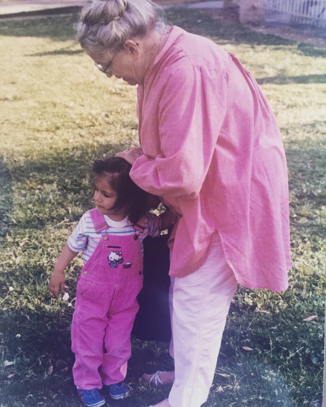 My grandmother who saved my life.