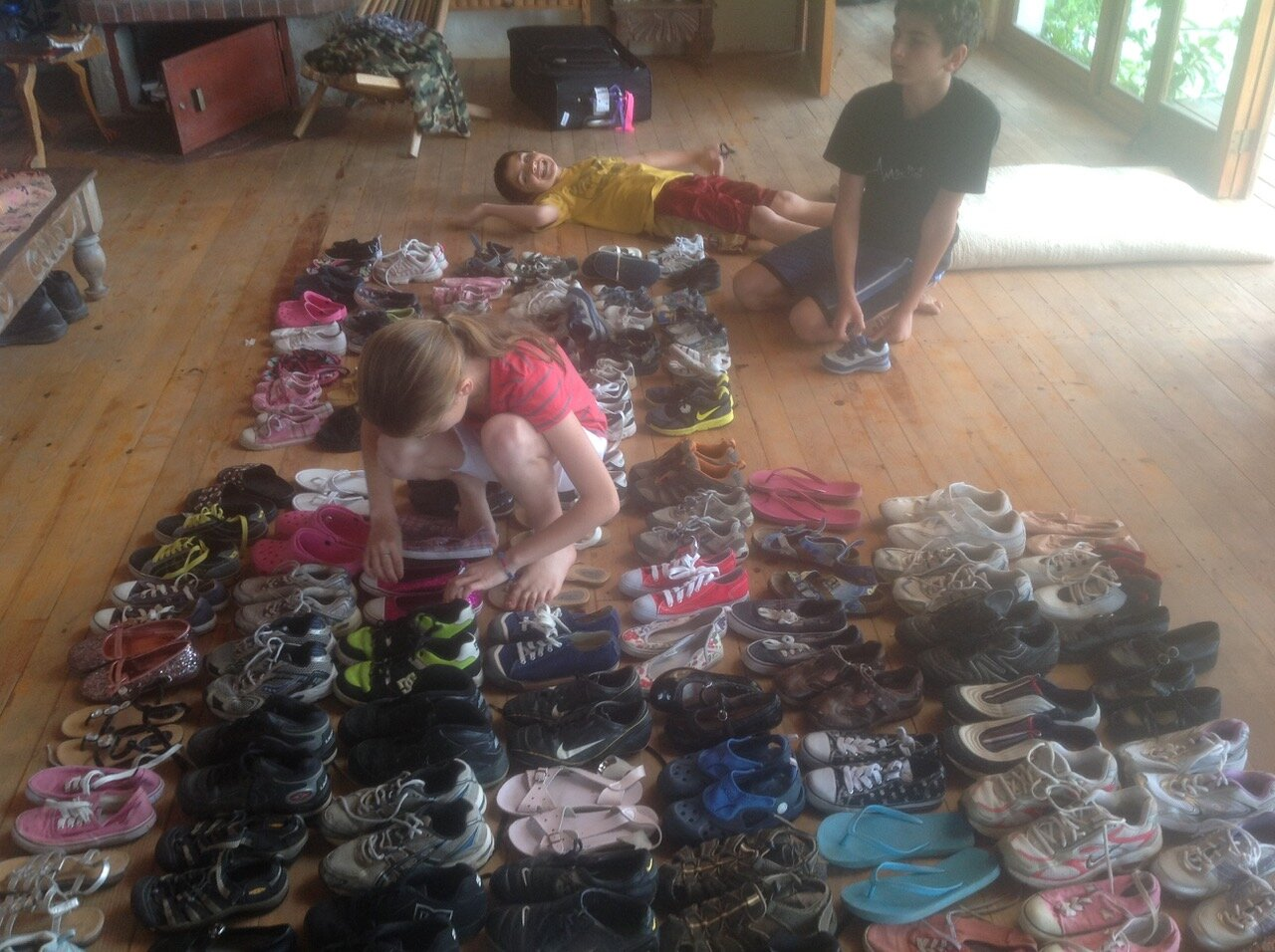 Want to save $100 on your tuition? - Donate 15 pairs of shoes in a women's size 8 or below. Your gift makes a huge impact on the community's children.