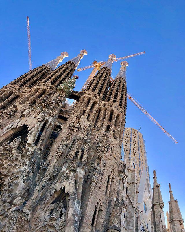 A properly religious experience! #gaudi #antonigaudi #sagradafamilia #design #architecture #monumental #ornament #construction #organic #modernism #catalonia  #barcelona