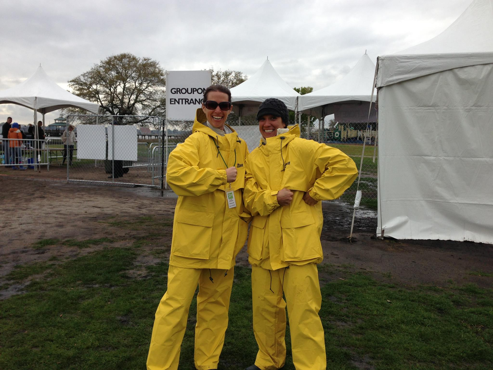 Foul Weather Gear in full force at the 1st Annual Spring Jam Music Fest