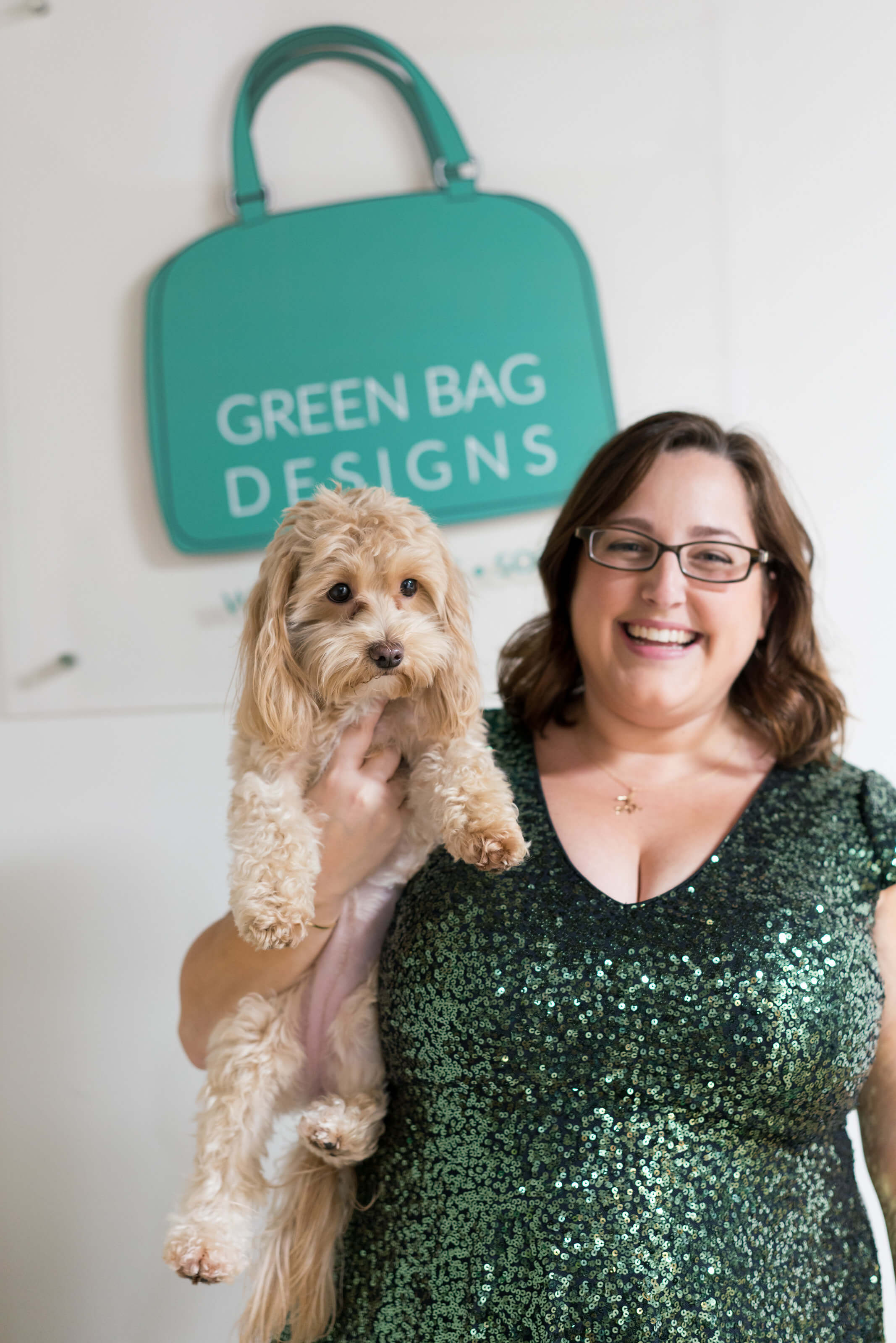 Chris Majernik and her dog Bailey |photos by Abby Murphy Photography