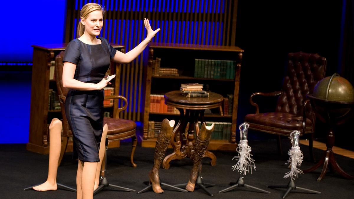 Photo of Aimee Mullins from TED