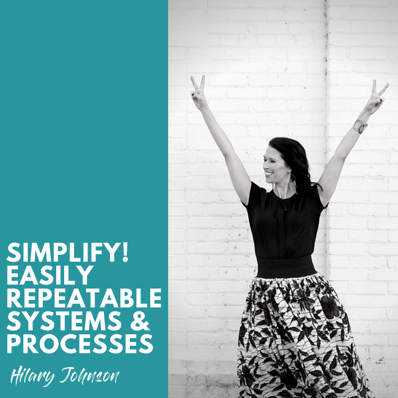 Work Smarter, Not Harder with Simple, Easy to Repeat Processes