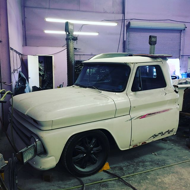 1954 CHEVROLET C10 Complete tray removal and panel repair