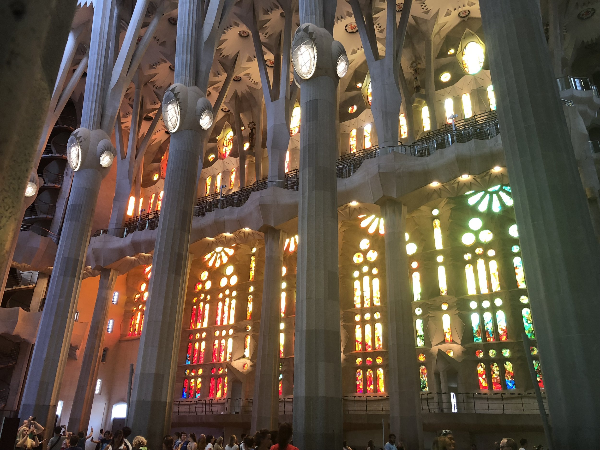 Sagrada Familia: Stained Glass