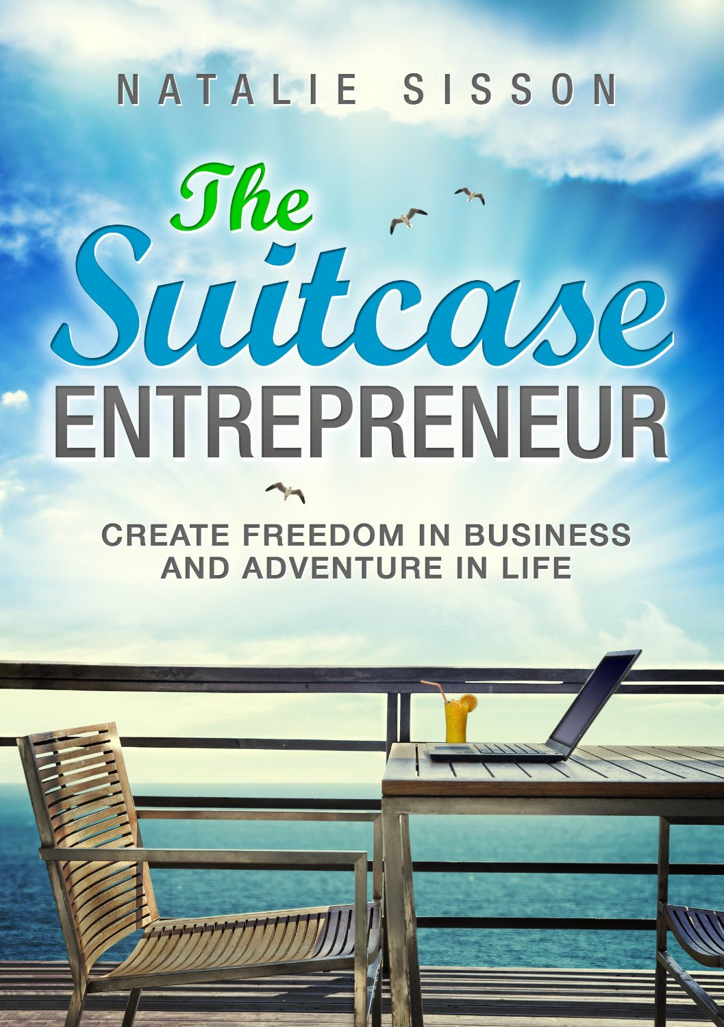 The Suitcase Entrepreneur - Natalie Sisson quit her high-paying job, moved to Canada, started a blog, and co-founded a technology company. After five years, she now runs a six-figure business from her laptop, while living out of a suitcase and teaching entrepreneurs worldwide how to build a business and lifestyle they love. The Suitcase Entrepreneur teaches readers how to package and sell their skills to earn enough money to be able to work and live anywhere, build a profitable online business, and live life on their own terms.