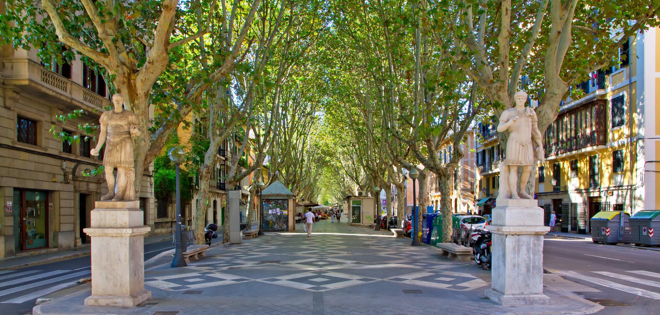 Passeig del Born in Palma