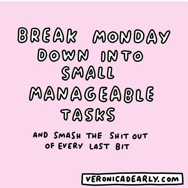 Sometimes being your own boss can feel overwhelming. Focusing on what you can control and taking on one thing at a time will help you get through your to-do list. And sometimes a glass of wine helps (we don't judge 😉)