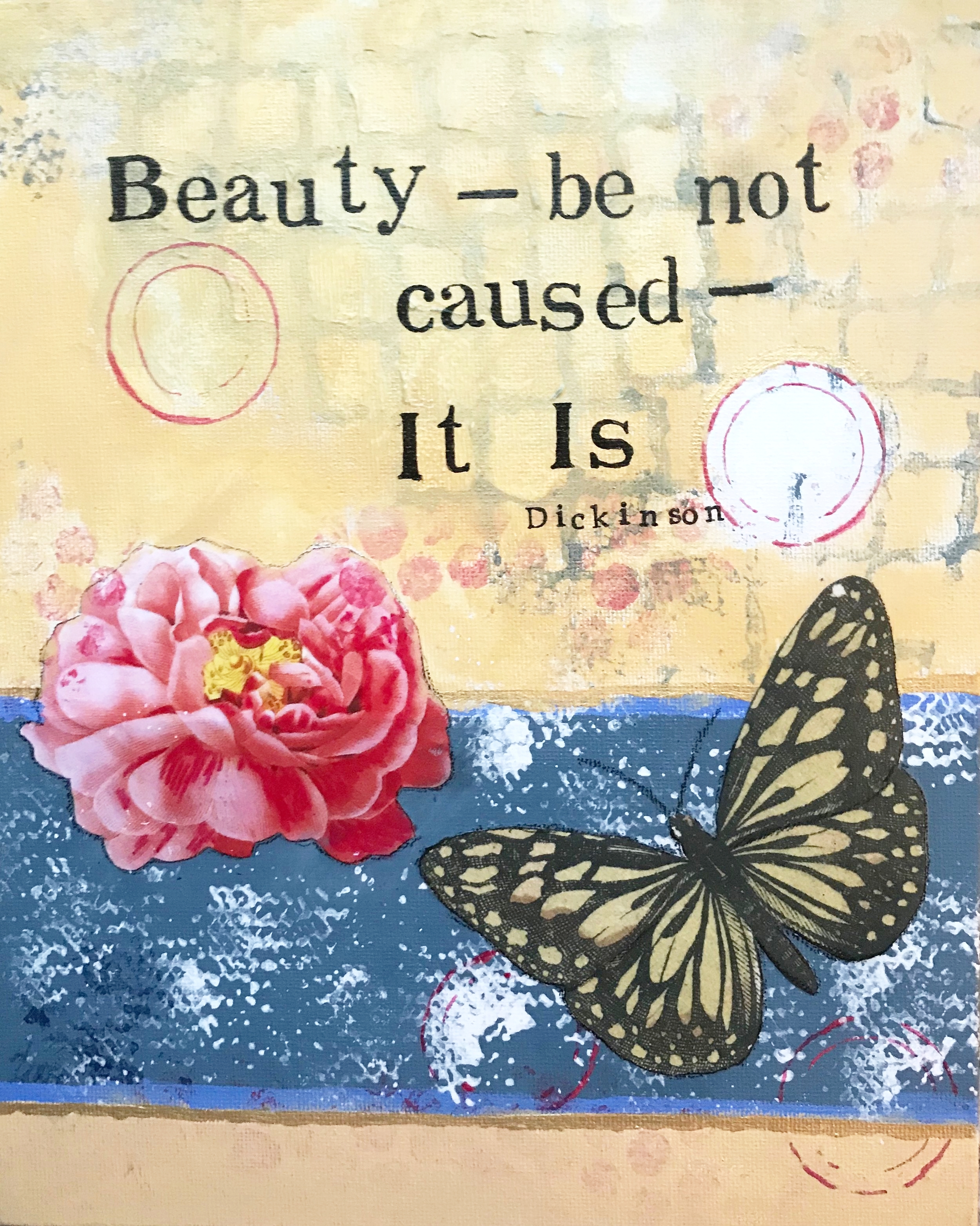 Beauty be not caused