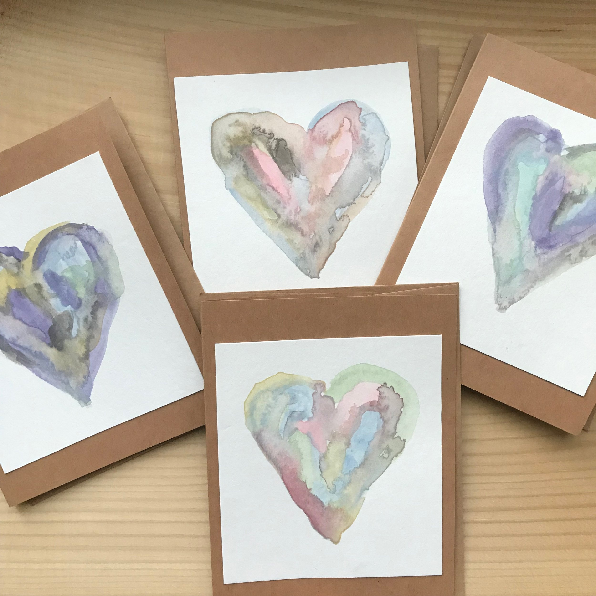 Hand-painted Valentines - I'll be bringing some of these beauties along