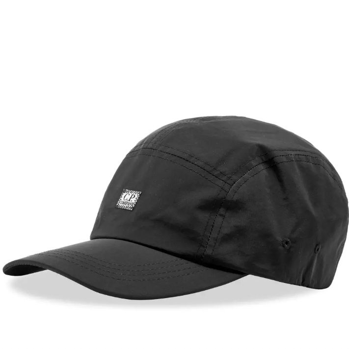 C.P. COMPANY   5 PANEL NYLON CAP