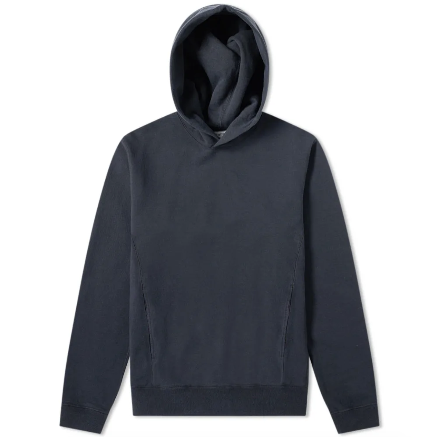 NONNATIVE   DWELLER OVER DYED POPOVER HOODY