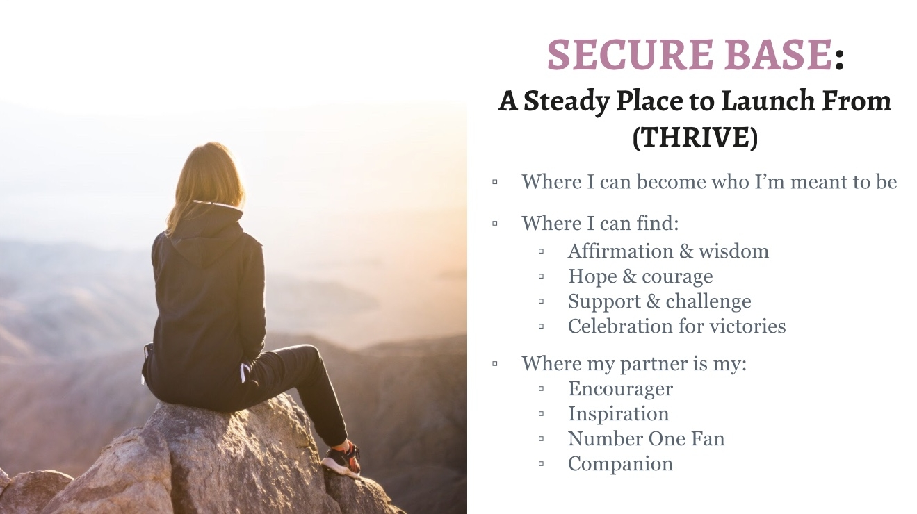 secure base marriage san jose couples counseling therapy
