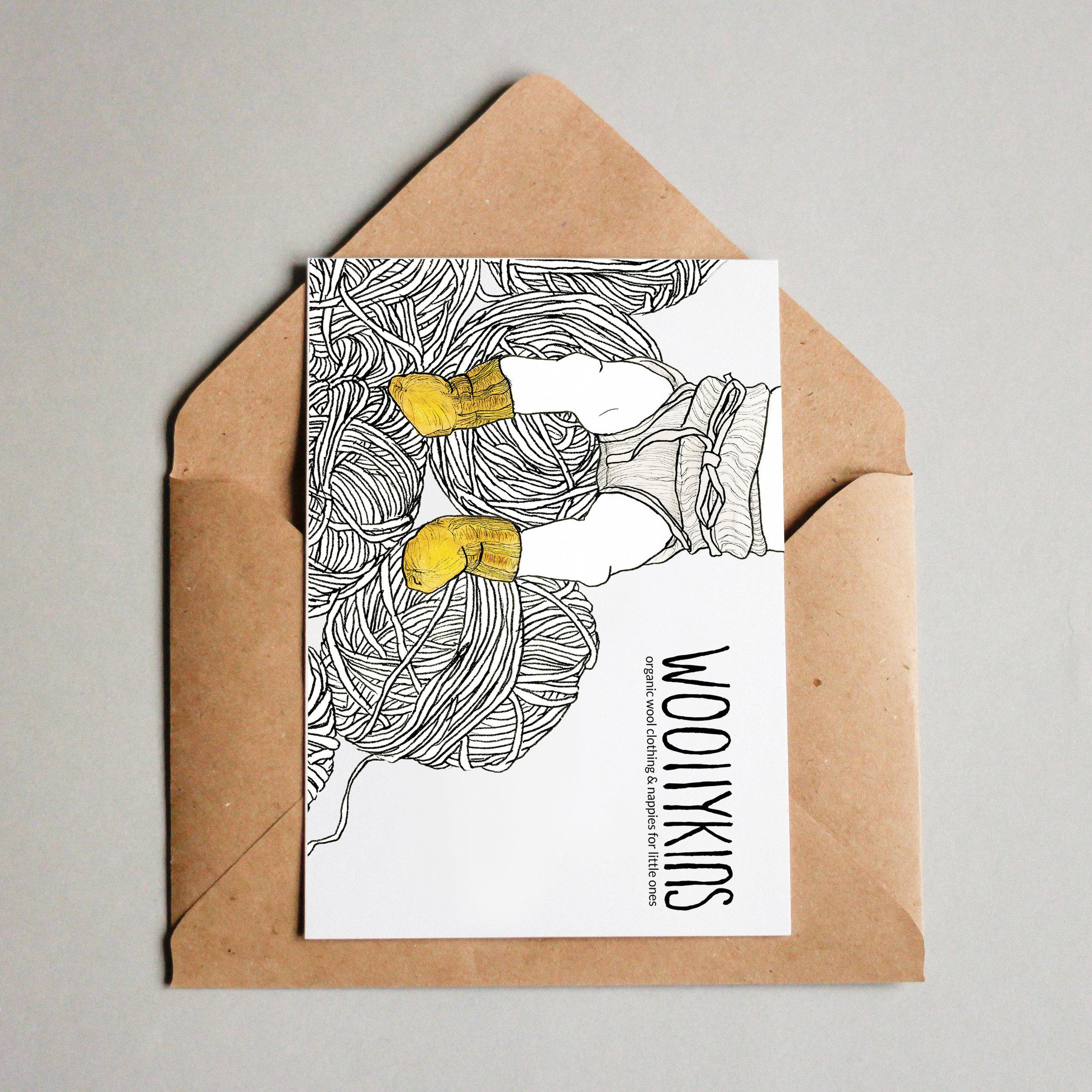 woollykins - postcard with envelope.jpg