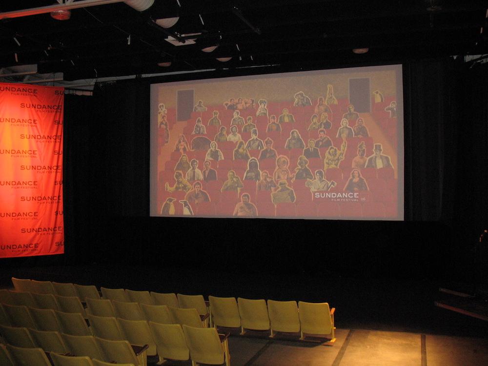 The unique Sundance screen
