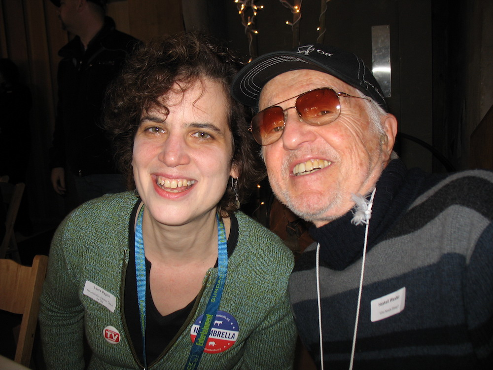 Me and the famous Haskell Wexler