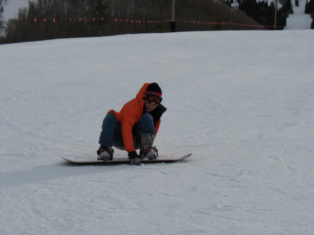 Adventures in snowboarding!