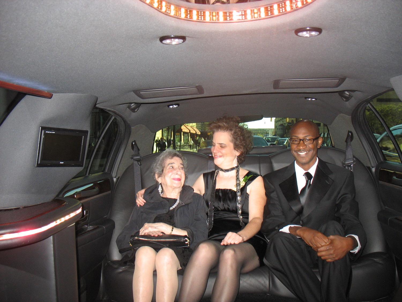 Riding to the Awards Gala