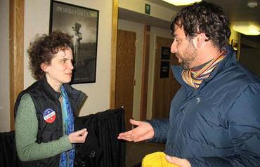 No Umbrella  director Laura Paglin at 2006 Sundance Film Festival
