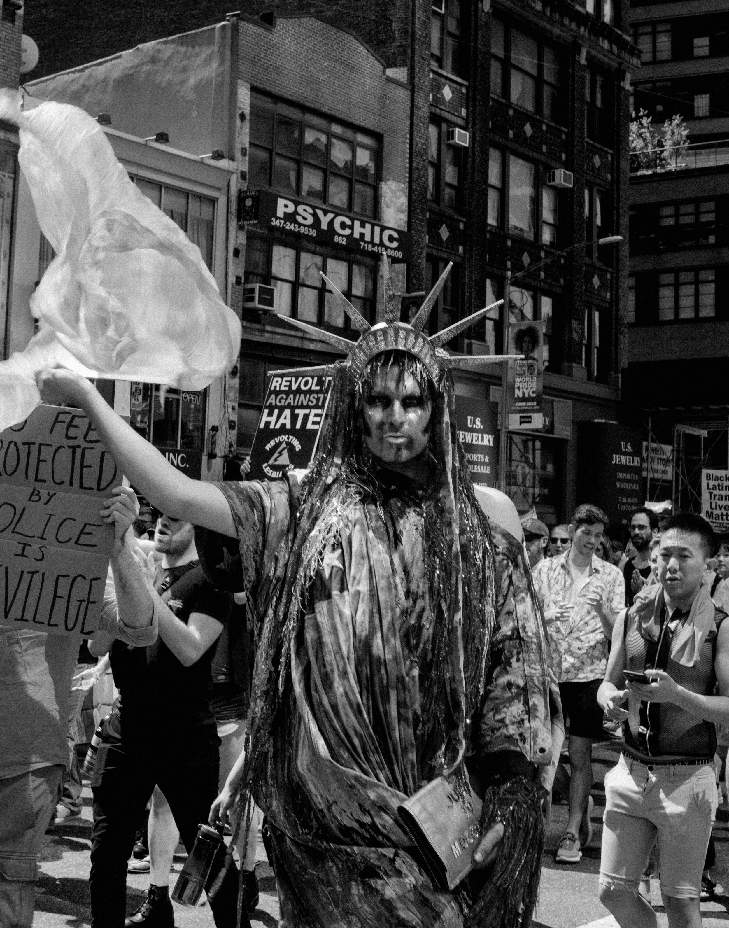 Images from the Queer LIbaration March for the City of New York.