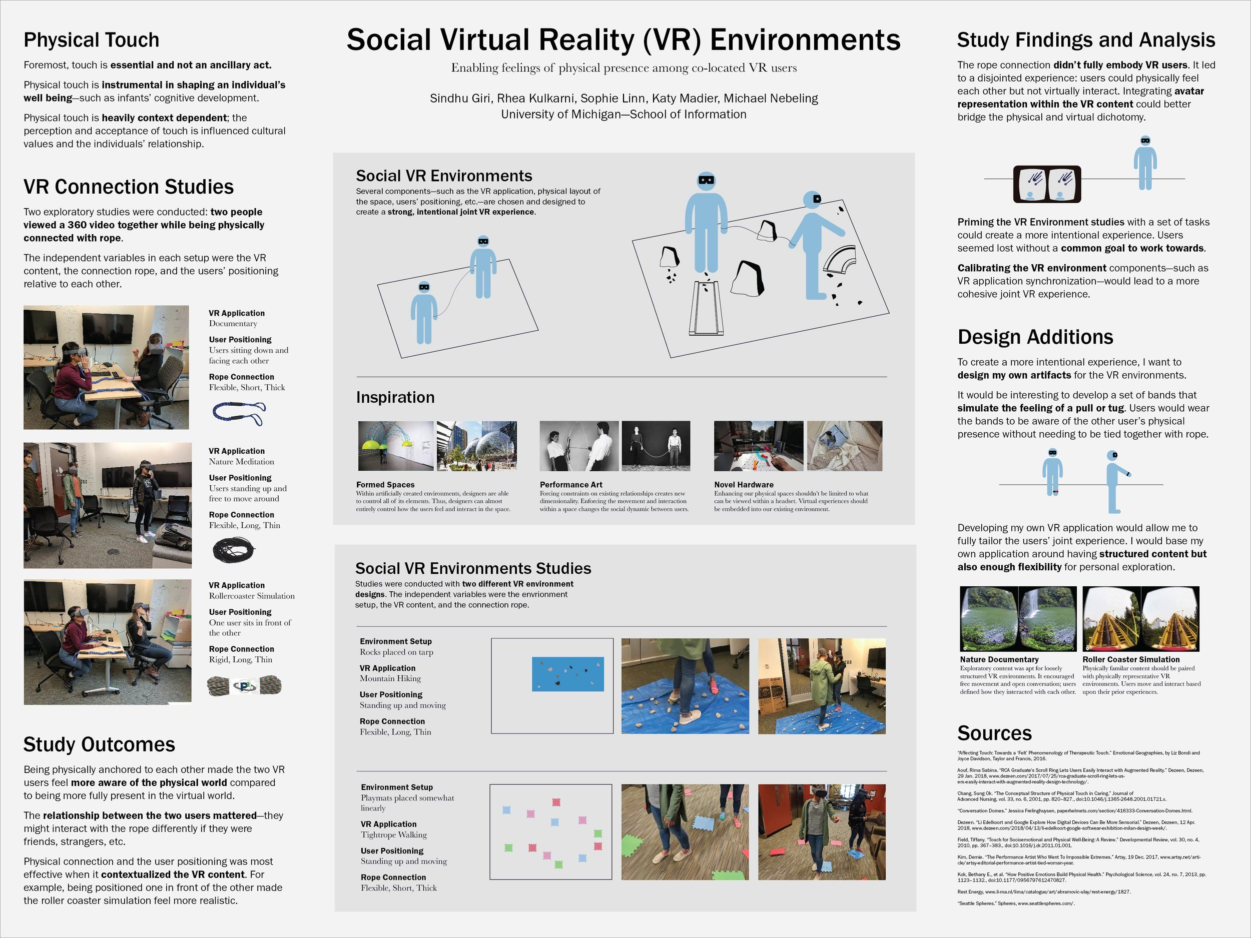 Social, Co-located VR (In Progress) — SINDHU GIRI