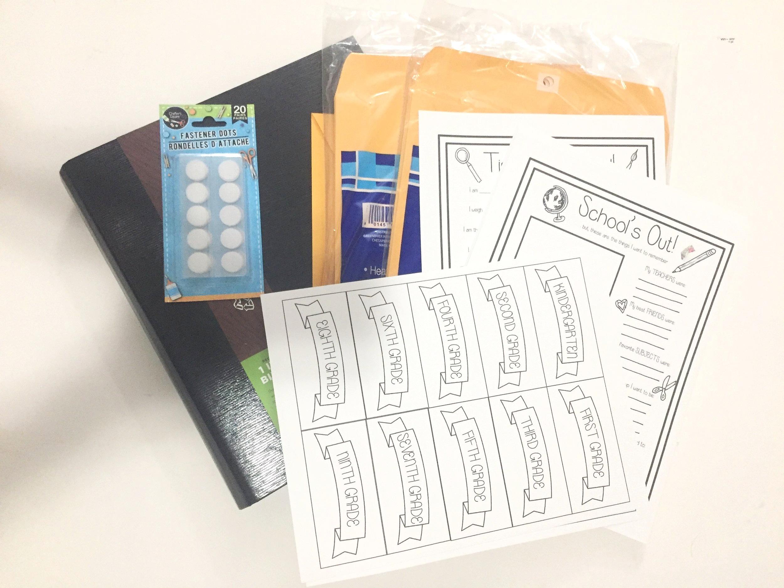 SchoolMemoryBookSupplies.jpg
