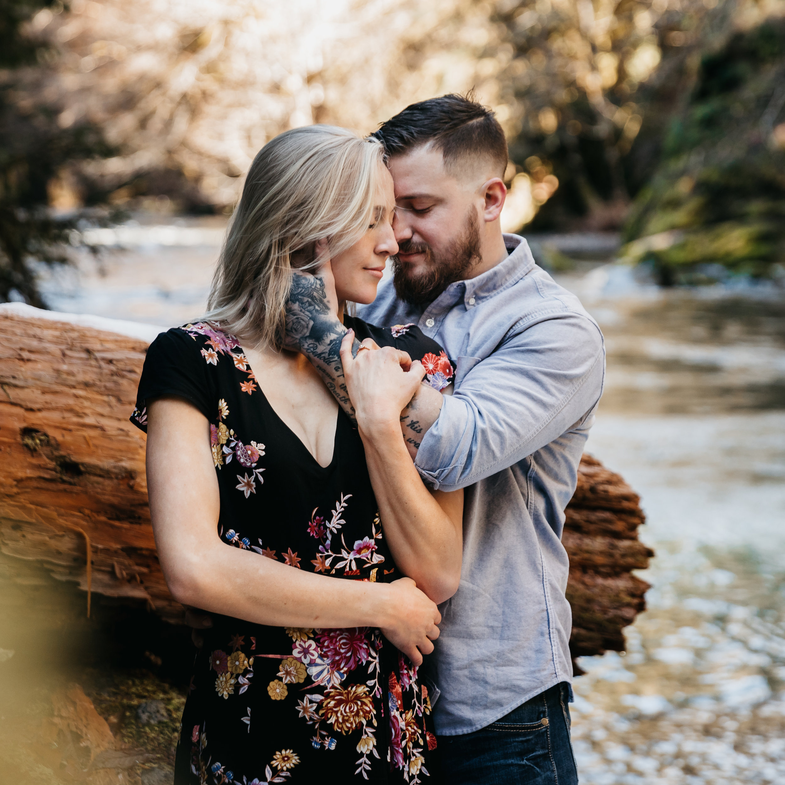 Lizzy & Buck | Willamette Forest, OR