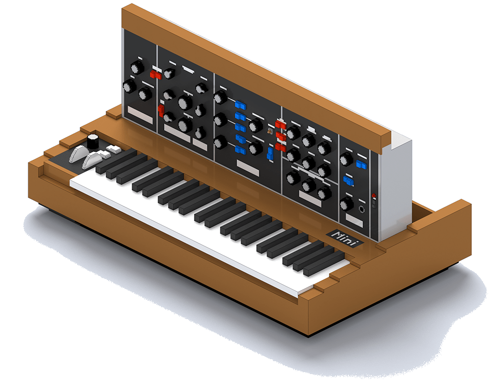 Arturia Mini V Presets - The Minimoog has been on more records than anybody can count. It is one of those classic sounds that instantly works in any mix. With 100 patches for Arturia Mini V, ranging from classic, recognisable sounds, to bizzare, mangled patches, the Mini V Presets contain everything you both would and wouldn't expect from a Moog library. That means fat basses and funky leads, but also warm organs, deep pads, and cinematic soundscapes.