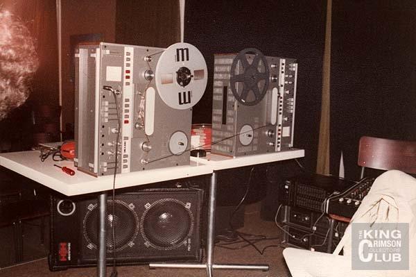 Frippertronics Dual Tape Machines