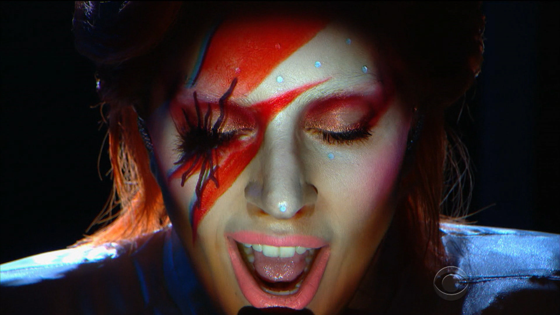 Lady Gaga embodied David Bowie during her tribute to him at the 58th GRAMMYs in 2016.