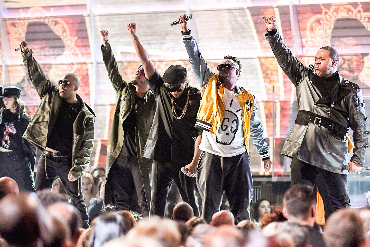 """A Tribe Called Quest performed """"We The People"""" at the 59th GRAMMY Awards in 2017."""