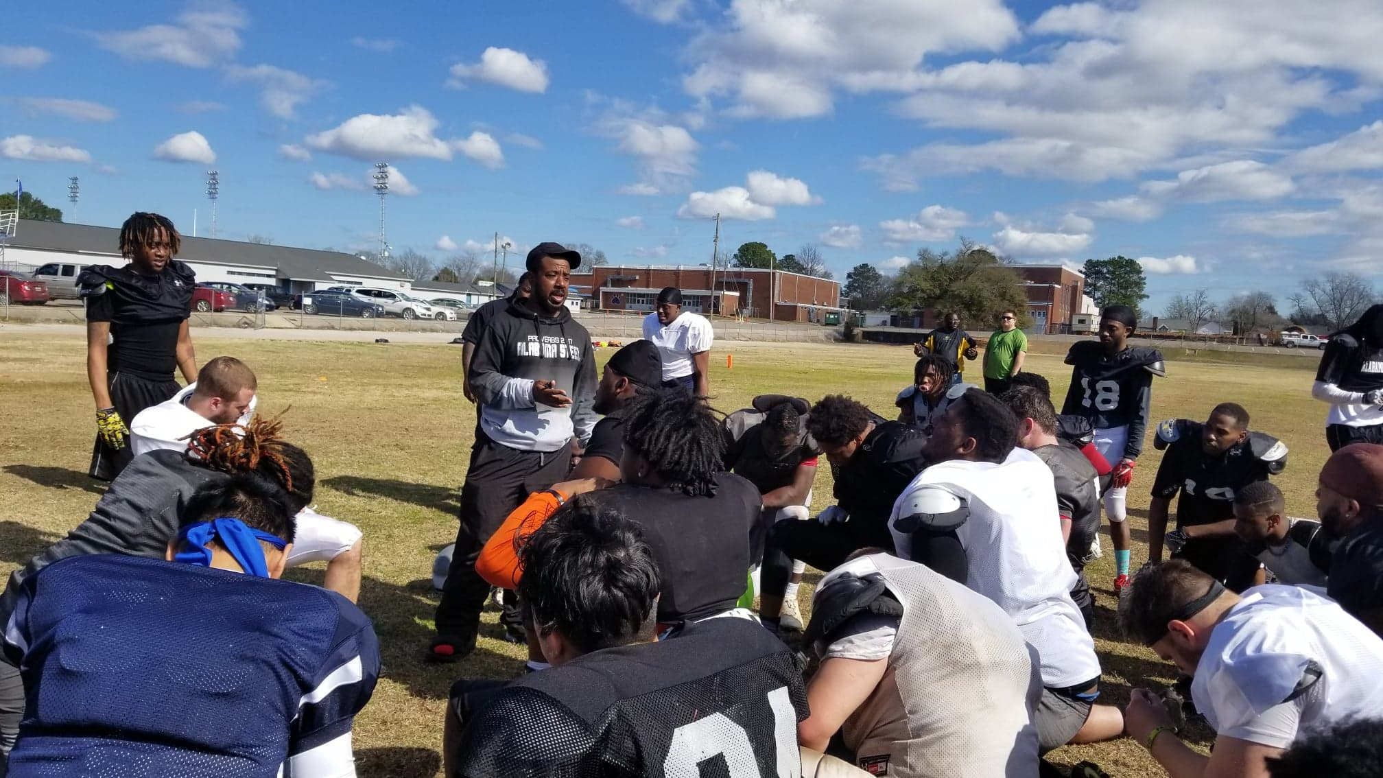 STEEL  AIMING FOR  NO.1  SPOT IN  THE  IAFL  - DFUSA FEATURE PUBLISHED 2-27-2019