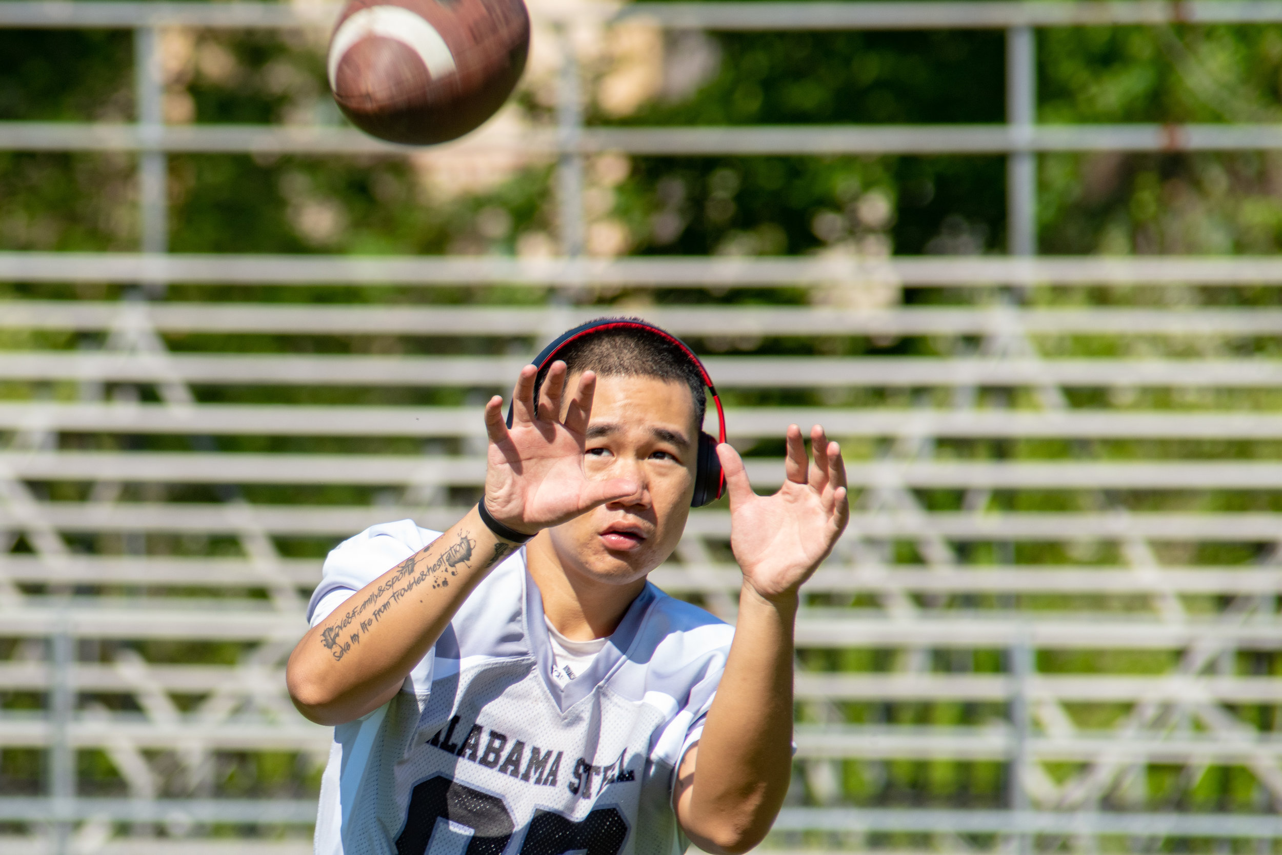 "Click to see the images from April 27th, 2019 Pre Game Workouts and Fun Pictured above: Chen ""Daniel Chen Photo Credit: David Rutledge"