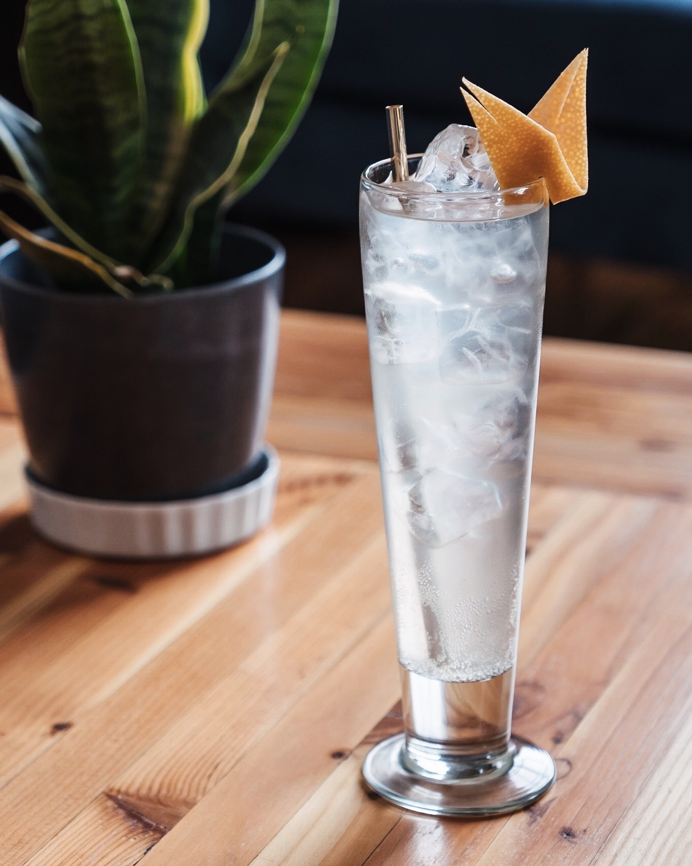 - 1 ½ oz Durango Sotol½ oz Giffard Pamplemousse¾ oz Jalapeño-infused vodka½ oz Sage simple syrupGrapefruit sparkling water