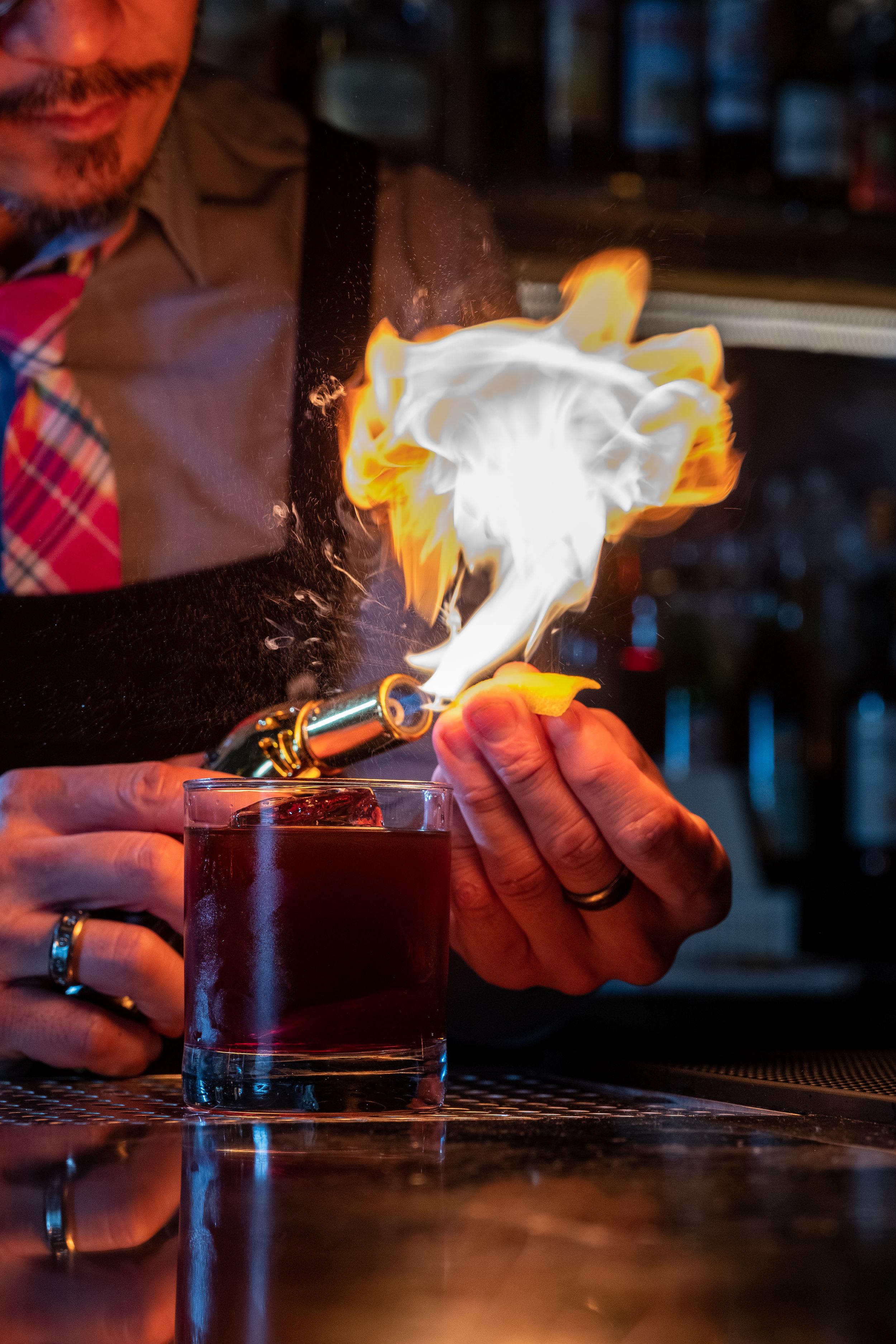 Jason Yu bartender