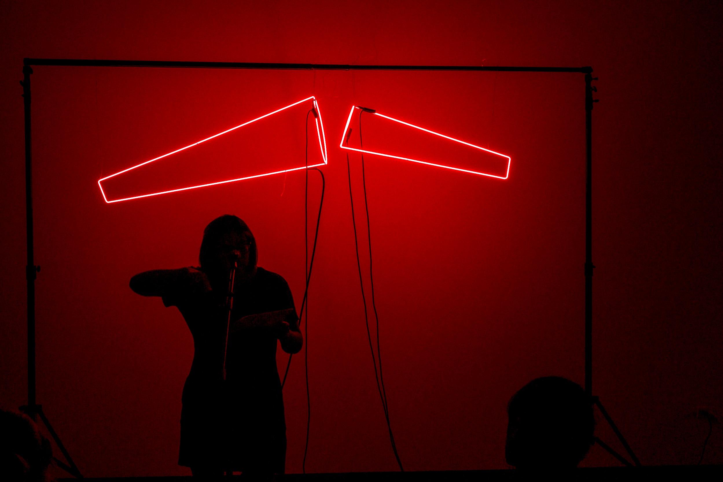 Shameless Light , UIC, IL. Reader: Marcela Torres