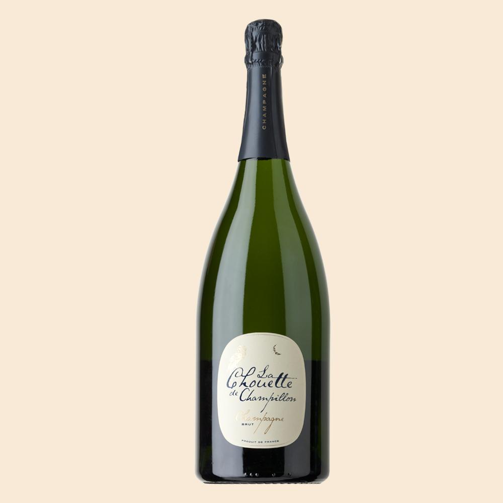 Champagne Chouette Blanc de Noirs Magnum - Pöllösamppanja juhlavassa 1,5l Magnum-koossa josta riittää isommallekin juhlaväelle.