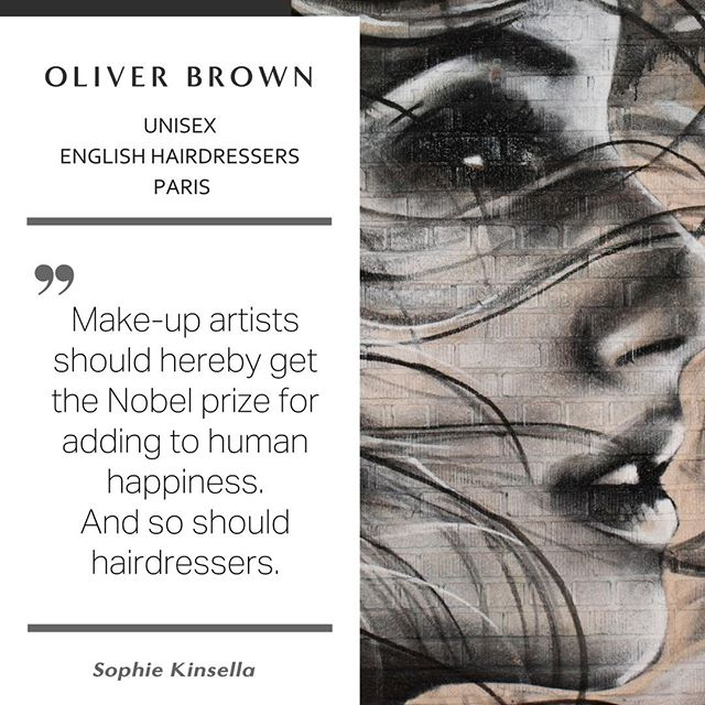 Oliver Brown - English hairdressers Paris. The place to be for style / a refreshing change. ⠀ ✂️✂️✂️✂️✂️✂️✂️✂️✂️✂️✂️✂️✂️✂️✂️⠀ #hairstyle #hairstylist #haircut #hairtransformation #englishhairsalon #parishair #parisstyle #expat #expatlife #expatriatesmagazine #expatriate #expatwoman  #quote #quotestagram #quoteoftheday #beardy #france #french #hairstyles #hair #quickdo  #hairstylist #haircut #hairtransformation #englishhairsalon  #olaplex #nanokeratin #hairtreatment