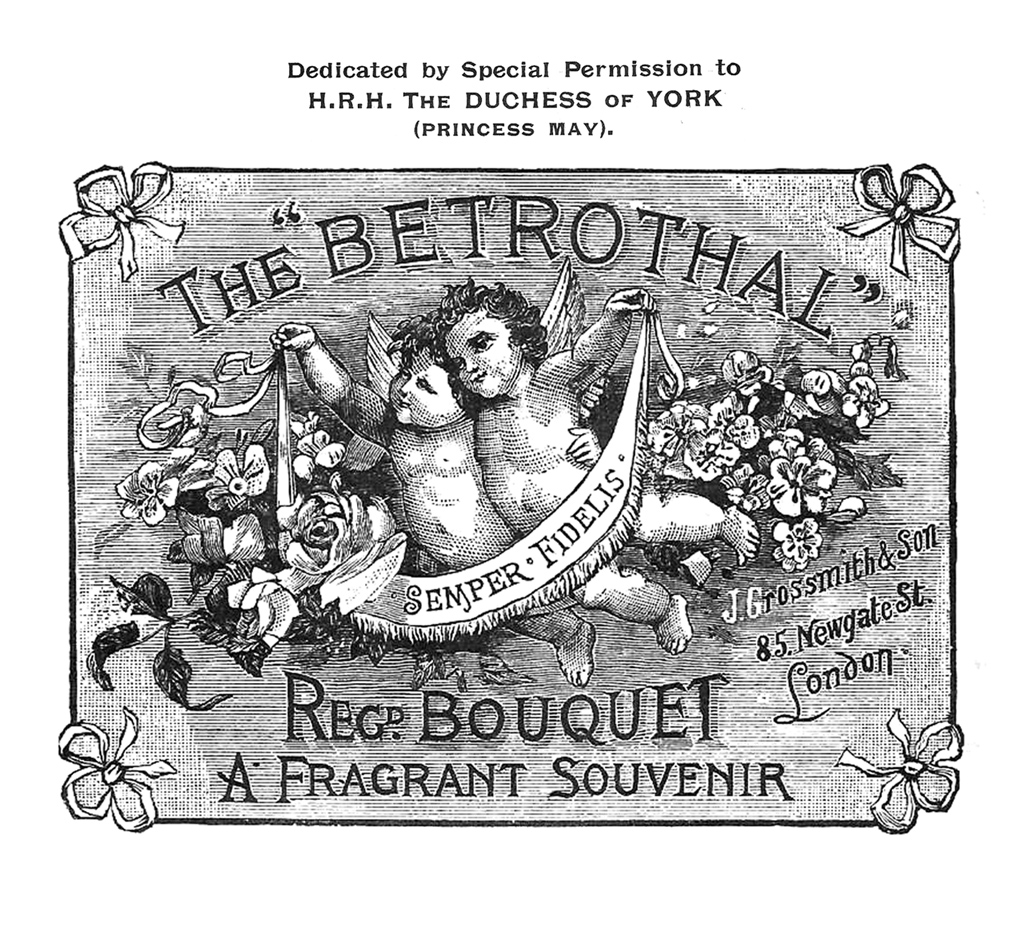 Advertisement for Betrothal, 1893