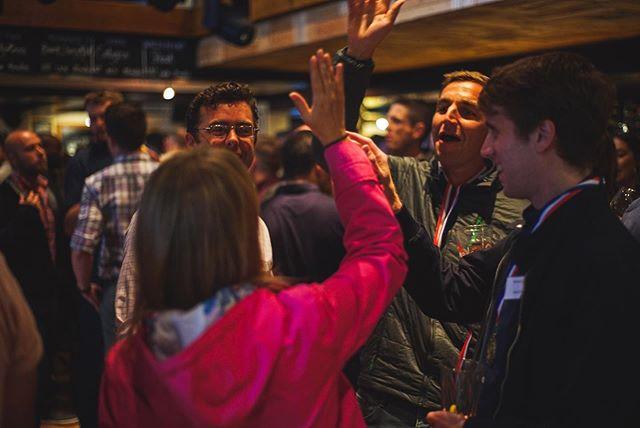 Winners of the Wild Goose challenge at Brunning and Price's company do.  #companydo #staffparty #staffdo #workmates #workbuddies #workfriends #party #brunningandprice #celebrate #pub #partytime #pubsofinstagram #pubs #publife #beer #letthebeerflow #cheers #medals #winner #winners #winnerwinnerchickendinner #wildgoosechase #wildgoose #workcolleagues #colleagues #workfun #workantics #workfam #worklife #funatwork