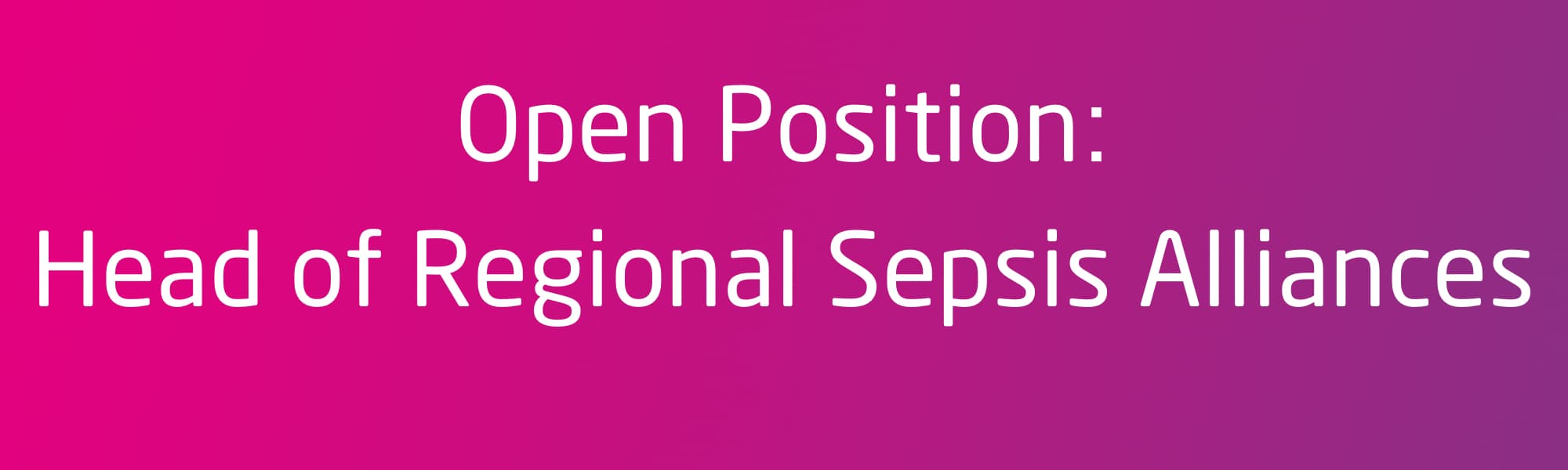 GSA Open Position Head of Regional Sepsis Alliances Liaison Officer.jpg