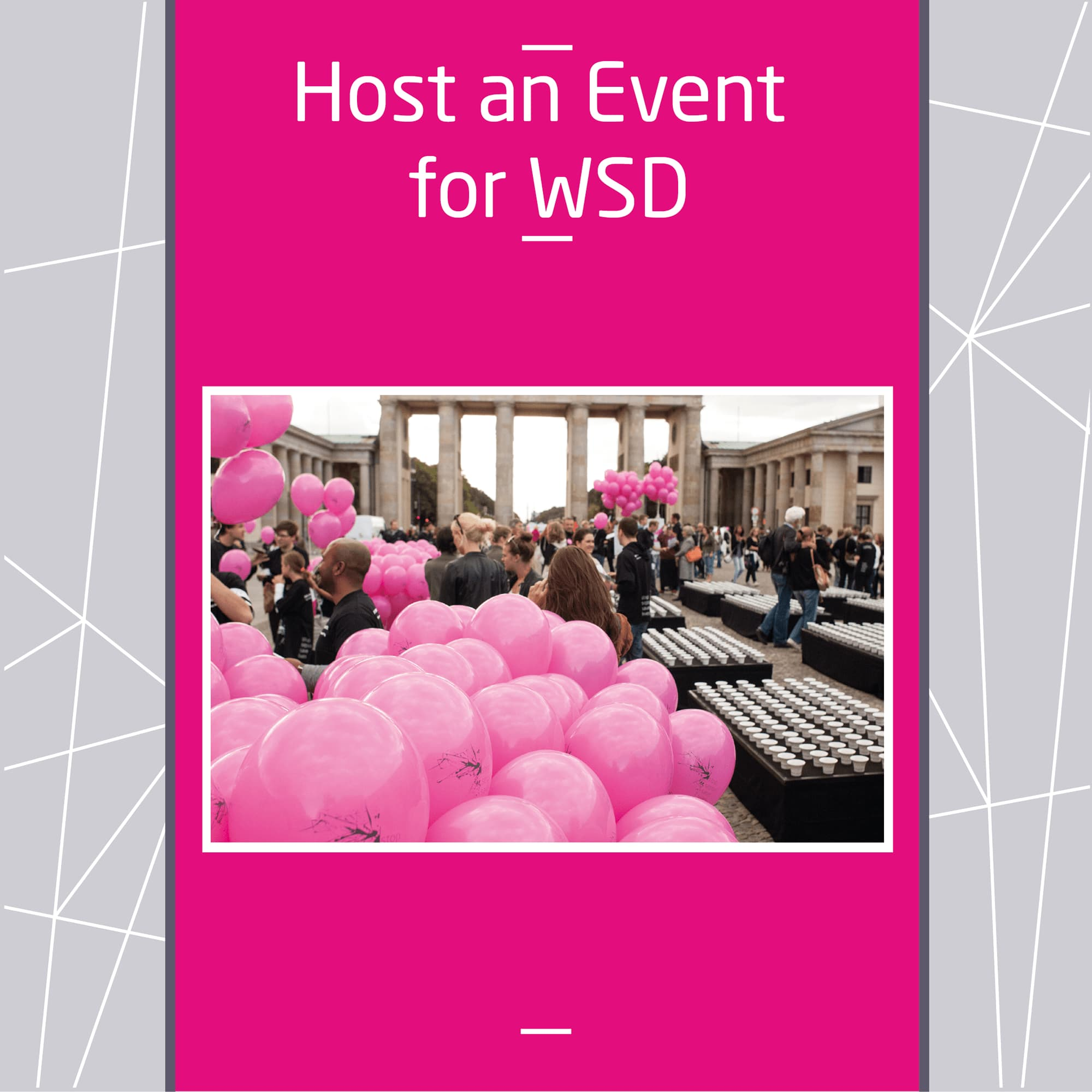 Host an Event for WSD