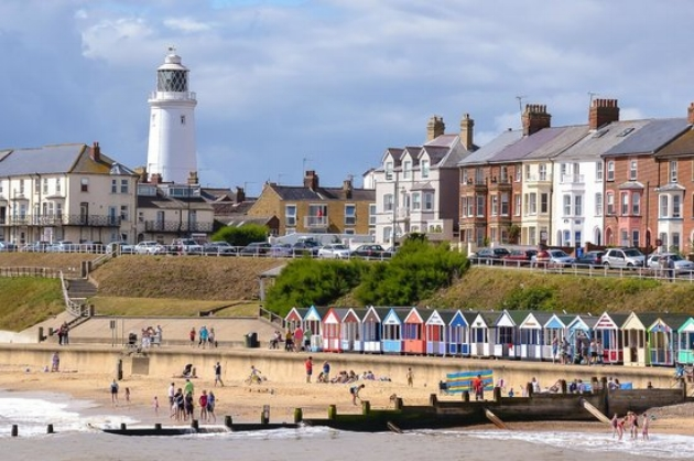 Southwold is a 40 minute drive away and is an attractive seaside town.