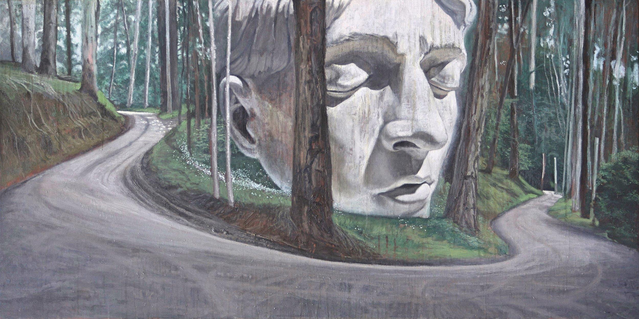 William Road monolith.